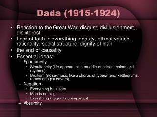 Dada (1915-1924)