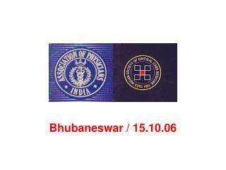 Bhubaneswar / 15.10.06