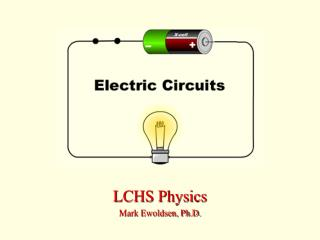 LCHS Physics Mark Ewoldsen, Ph.D.