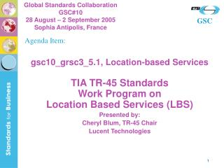 gsc10_grsc3_5.1, Location-based Services