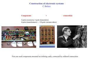 Construction of electronic systems C.Bohm