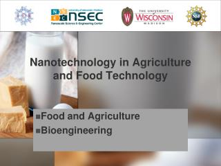 Nanotechnology in Agriculture and Food Technology
