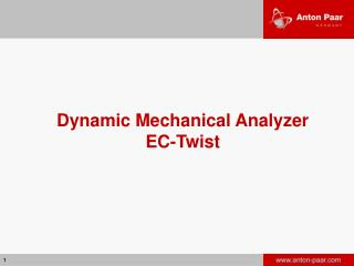 Dynamic Mechanical Analyzer EC-Twist