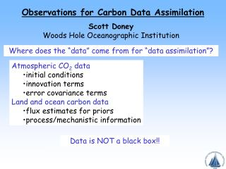 Observations for Carbon Data Assimilation