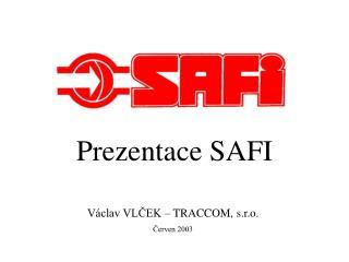 Prezentace SAFI