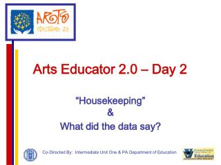 Arts Educator 2.0 – Day 2