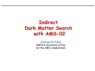 Indirect  Dark Matter Search  with AMS-02