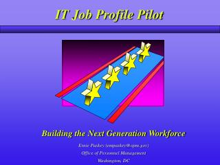 Building the Next Generation Workforce
