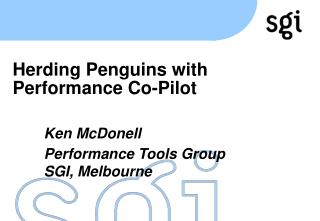 Herding Penguins with Performance Co-Pilot