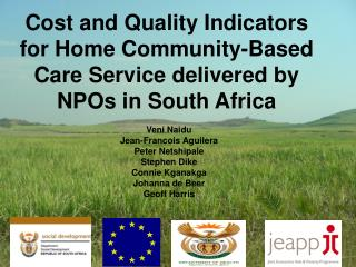 Cost and Quality Indicators for Home Community-Based Care Service delivered by NPOs in South Africa