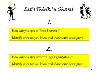 "How can you spot a ""Learning Organization?"""