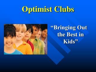 Optimist Clubs