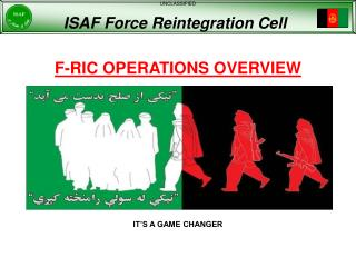 F-RIC OPERATIONS OVERVIEW