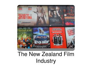 The New Zealand Film Industry