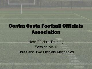 Contra Costa Football Officials Association