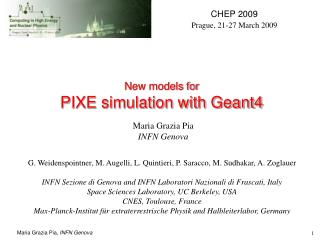 New models for  PIXE simulation with Geant4