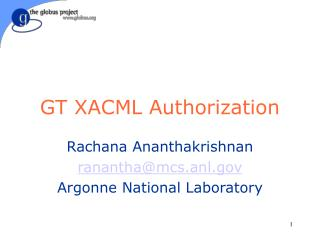 GT XACML Authorization