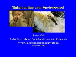 Globalization and Environment