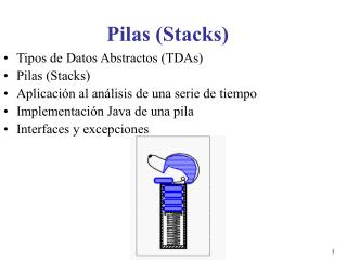 Pilas (Stacks)