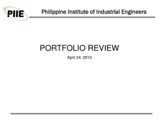 Philippine Institute of Industrial Engineers