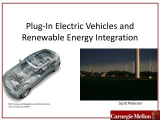 Plug-In Electric Vehicles and Renewable Energy Integration