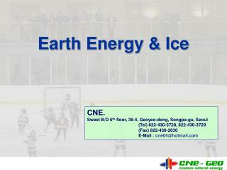 Earth Energy & Ice