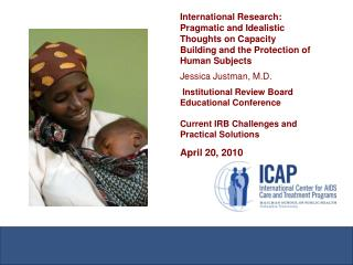 Context International IRB/Ethic Committees Capacity Clinical trials and NIH/USG funding