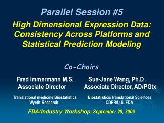 Parallel Session #5