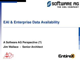 EAI & Enterprise Data Availability