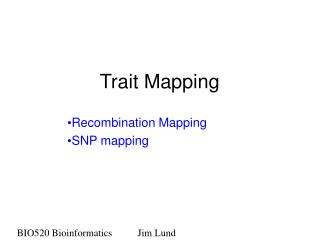 Trait Mapping