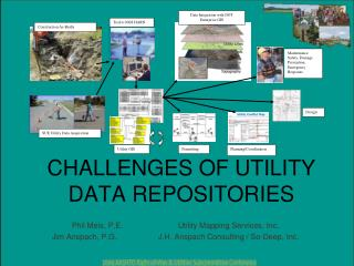 CHALLENGES OF UTILITY DATA REPOSITORIES