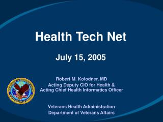 Health Tech Net July 15, 2005