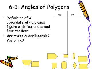 6-1: Angles of Polygons