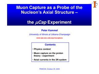 Muon Capture as a Probe of the Nucleon's Axial Structure – the  m Cap  Experiment