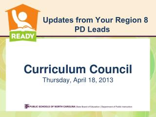 Updates from Your Region 8 PD Leads