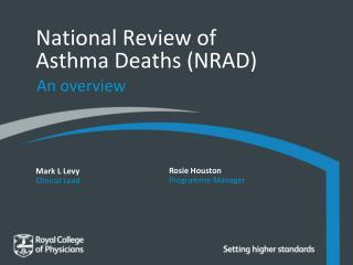 National Review of Asthma Deaths (NRAD)