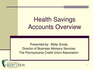 Health Savings Accounts Overview