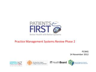 Practice Management Systems Review Phase 2