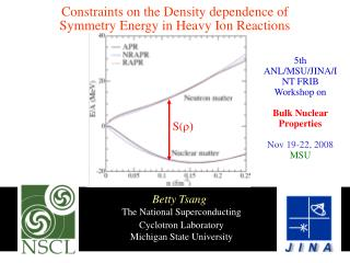 The National Superconducting  	Cyclotron Laboratory 	Michigan State University