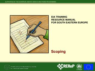 EIA TRAINING  RESOURCE MANUAL  FOR SOUTH EASTERN EUROPE