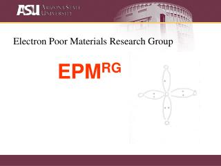 Electron Poor Materials Research Group EPM RG