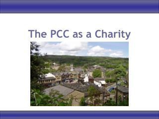 The PCC as a Charity