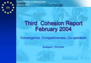 Third  Cohesion Report  February 2004