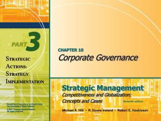 CHAPTER 10 Corporate Governance