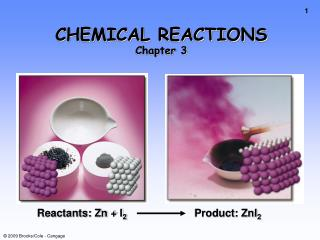 CHEMICAL REACTIONS Chapter 3