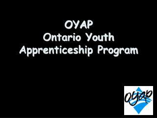 OYAP Ontario Youth Apprenticeship Program