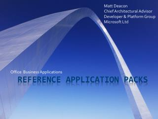 REFERENCE APPLICATION PACKS