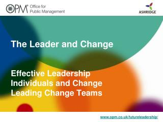 The Leader and Change