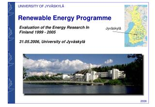 Renewable Energy Programme
