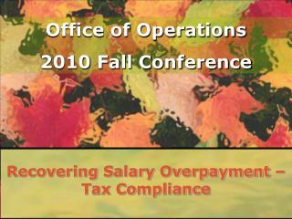 Recovering Salary Overpayment – Tax Compliance